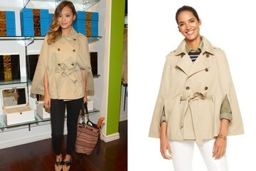 Found: Jamie Chung's Chic Cape