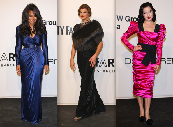 Best and Worst Dressed at amfAR Milan Fashion Week 2009