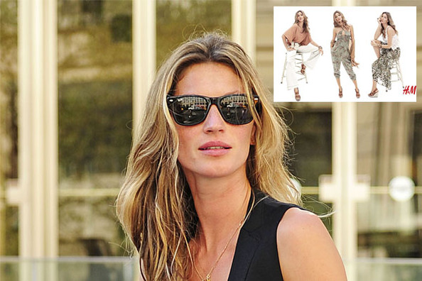 Gisele Bundchen Models for High Street Favorite H&M