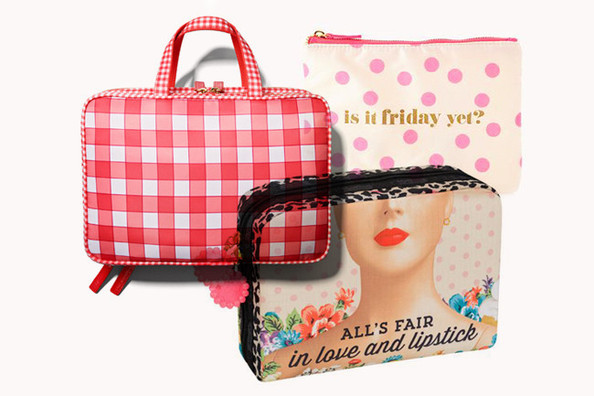 The Cutest Cosmetic Bags Around