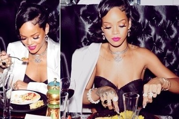 Rihanna's New Year's Eve Look Was So Totally Boss