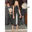 Karolina Kurkova Works a Black-and-White Jumpsuit