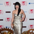 Carly Rae Jepsen in a Gold Gown