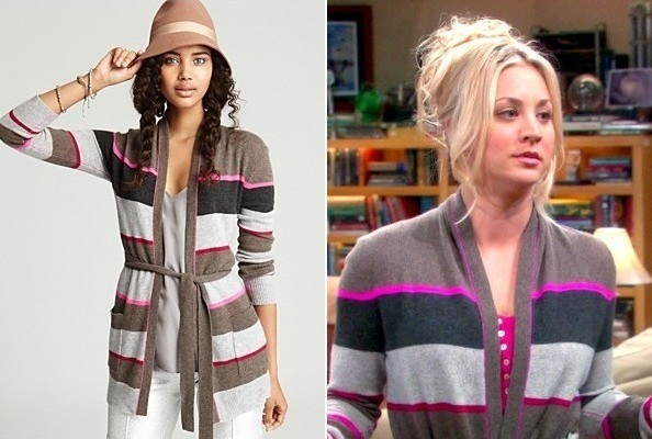 Kaley Cuoco's Cardigan on 'The Big Bang Theory'