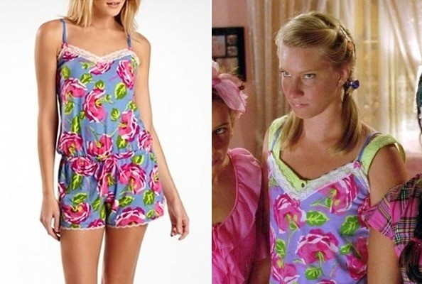 Heather Morris' Pajama Romper on 'Glee'
