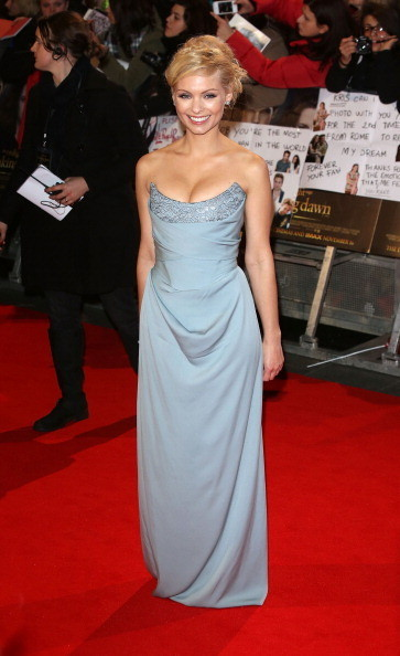 MyAnna Burling at the 'Twilight Saga: Breaking Dawn - Part 2' London Premiere