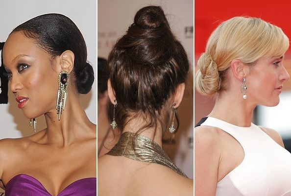 The Best Celebrity Buns