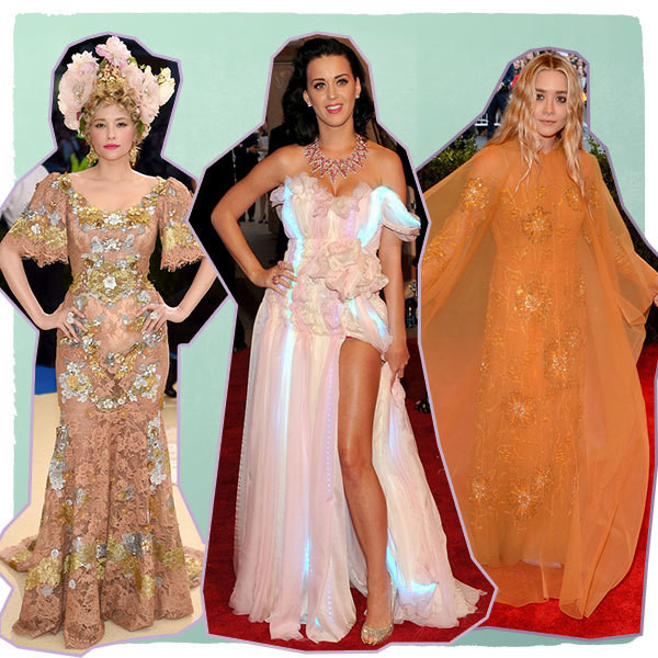 The Boldest Met Gala Gowns You Don't Remember