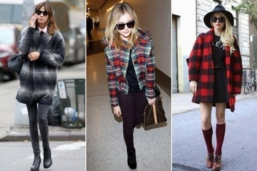 Trend to Try: Plaid Coats