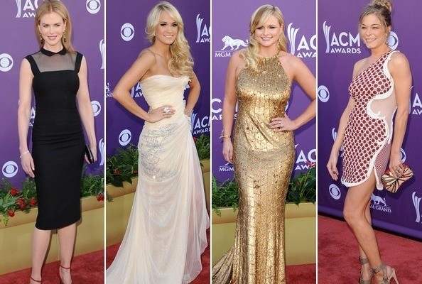 Best and Worst Dressed at the 2012 ACM Awards