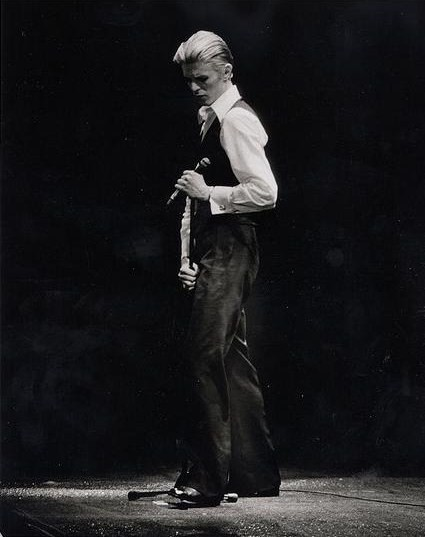 David Bowie at the O'Keefe Center in Toronto in 1976