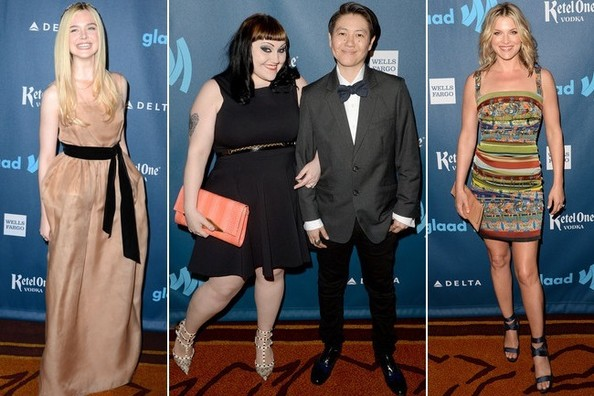 Best Dressed at the 24th Annual GLAAD Media Awards 2013