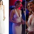 A White Halter Gown Like Emily VanCamp's on 'Revenge'