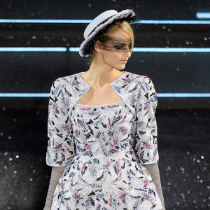 Tweedy Terrain: Chanel Couture Fall 2011