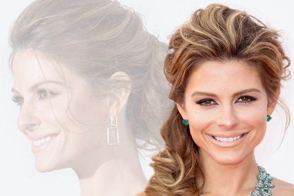 Updo Inspiration from Maria Menounos