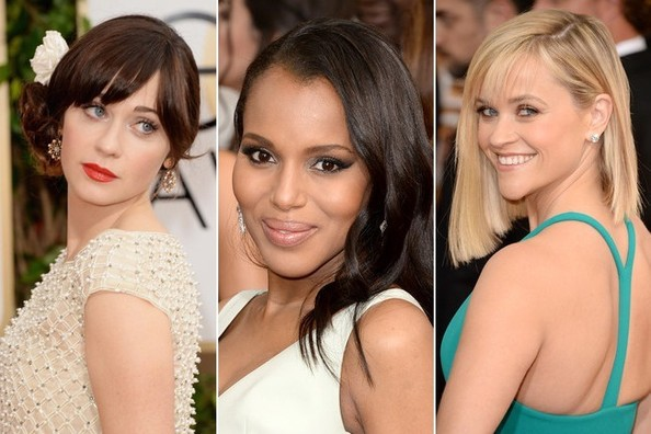 Best Hair and Makeup at the 2014 Golden Globes