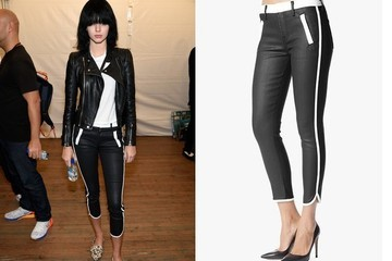Found: Kendall Jenner's Sporty Cropped Pants