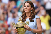 Kate Middleton Just Wore The Most Playful Dress To Celebrate Wimbledon