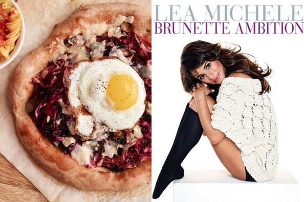 Weekend Recipe to Try: Lea Michele's Radicchio, Parmesan and Truffle Whole Wheat Pizza