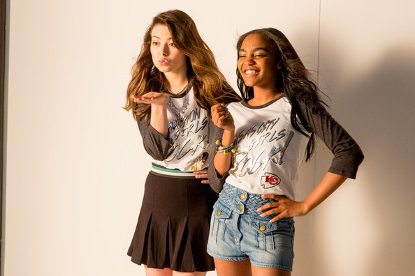 How Disney Star China Anne Mcclain Shows Her Team Spirit