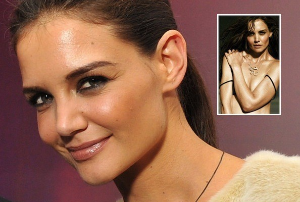 Katie Holmes Strips Down for H. Stern