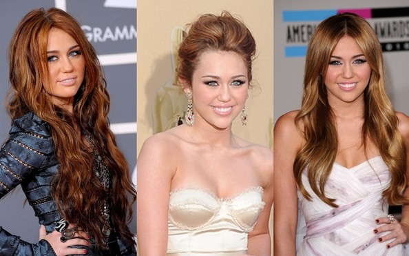 Miley Cyrus Prom Hairstyle Ideas
