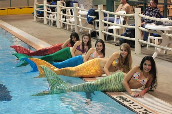 OMG Mindblowing Etsy Product Alert! Mermaid Tails You Can Actually Swim In!