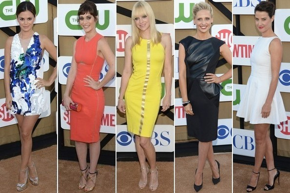 The Best Dressed at the Summer TCA Party 2013