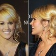 Carrie Underwood's Looped Side Ponytail