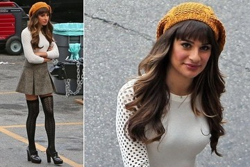 We're Kind of in Love with Rachel Berry's School Girl Outfit