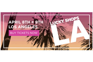 Lucky Shops Heads to LA!