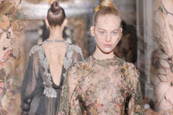 The Most Beautiful Fall 2012 Couture Looks Roundup - Elie Saab, Givenchy, Valentino, Jean Paul Gaultier