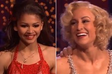 Watch: Zendaya Coleman & Kelly Pickler Both Got Double Perfect Scores on 'Dancing with the Stars'