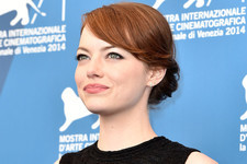 Emma Stone's Black and White Moment