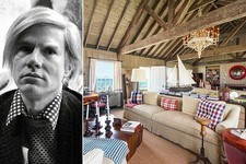 Andy Warhol's Legendary Hamptons Home