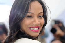 Zoe Saldana Shines at Cannes Photo Call