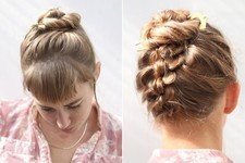 The French Knotted Bun You Can DIY at Home