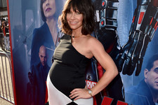 Evangeline Lilly Showed Up to the 'Ant-Man' Premiere with a BIG Surprise