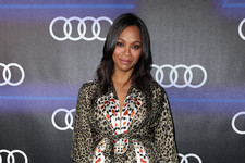 Zoe Saldana Glows on the Red Carpet