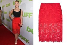 Found: Olivia Holt's Lace Skirt