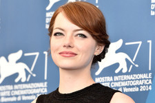 Emma Stone Goes Graphic in Venice