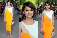 #TBT: When Miroslava Duma Dazzled in Marigold