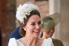 Kate Middleton Cradles 3-Month-Old Prince Louis In Adorable Christening Portraits