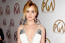 Jennifer Lawrence Dazzles at the Producers Guild Awards
