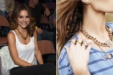 Found: Maria Menounos' Bold Necklace