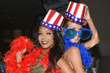Heidi Klum and Mel B Love America