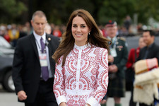 Look of the Day: Kate Middleton's Tiered Frock