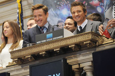 The 'Avengers' Hit the New York Stock Exchange