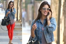 Alessandra Ambrosio Is All Smiles