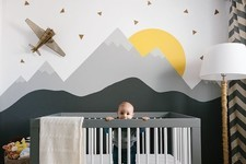 Modern Nursery Inspiration That's Not So Baby-ish